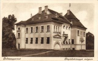 Balassagyarmat Nógrád vármegyei múzeum