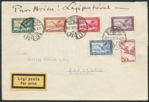 1927 Légi levél Berlinbe / Airmail cover to Berlin