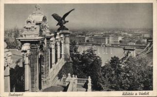 Budapest I. Vár Turul szobor (EK)
