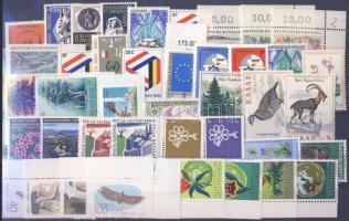 1968-1970 events 16 diff. countries, 41 different stamps, 1968-1970 események 16 klf ország, 41 klf bélyeg (2 stecklapon), 1968-1970 Ereignis 16 verschiedene Länder, 41 verschiedene Marken