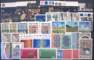 1970-1972 event 12 diff. countries, 36 different stamps, 1970-1972 események 12 klf ország, 36 klf bélyeg, 1970-1972 Ereignise 12 verschiedene Länder, 36 verschiedene Marken