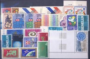 1972-1974 events 13 diff. countries, 26 different stamps, 1972-1974 események 13 klf ország, 26 klf bélyeg, 1972-1974 Ereignise 13 verschiedene Länder, 26 verschiedene Marken