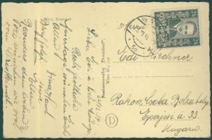 Postcard to Rákoscsaba, Képeslap Rákoscsabára, PS-card nach Rákoscsaba