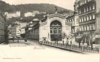 Karlovy Vary, Karlsbad; Sprudel Colonnade