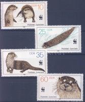 1987 WWF A kihalás szélén élő állatok sor Mi 3107-3110 + 4 FDC