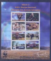 2002 WWF Afrikai elefánt kisív Mi 2393-2396