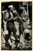 Muslim folkwear, Sarajevo, folklore, Muszlim népviselet, Szarajevó, folklór