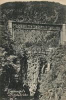 Fortezza, Franzensfeste; Hohe Brücke / railway bridge