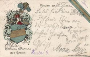 Bavarian school absolvents coat of arms, Bajor iskola címer