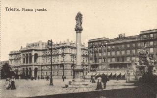 Trieste Piazza Grande / square, Trieszt, Piazza Grande / tér