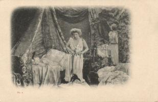 Erotic postcard, Erotikus lap