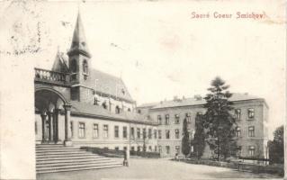 Praha, Prag V. Smíchov Sacred Heart church