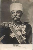 Peter I of Serbia, I. Péter szerb király