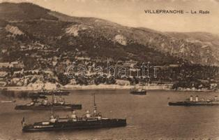 Villefranche-sur-Mer with steamers