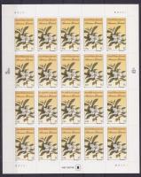 1999 John és William Bartram botanikusok öntapadós kisív Mi 3121