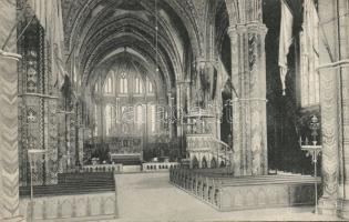 Budapest I. Mátyás templom belső