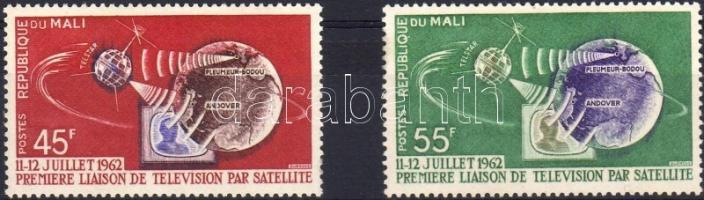 1962 Telstar műhold Mi 55-56