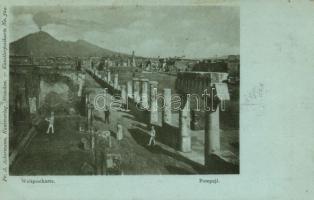Pompeii, ruins
