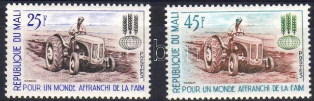 1963 Az éhség ellen Mi 60-61