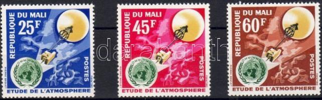 1963 Atmoszférakutatás Mi 62-64