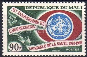1968 Egészségügyi világszervezet Mi 162