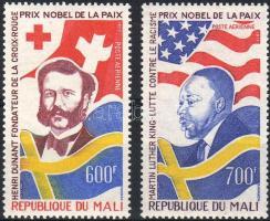 1977 75 éves a Nobel-díj Mi 598-599