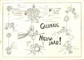 New Year, scouts, humour, Újév, cserkész, humor