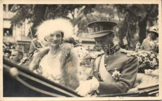 Leopold III, Astrid of Sweden, photo, III. Lipót belga király, Asztrid belga királyné, photo