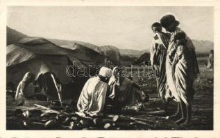 Accampamento bileno / camp tent, folklore, Accampamento bileno / tábor