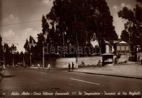 Addis Abeba, Victor Emmanuel corso, Via Neghelli, Addis Abeba, Victor Emmanuel korzó, Via Neghelli