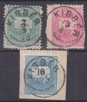 1881 3 klf bélyeg KISBÉR