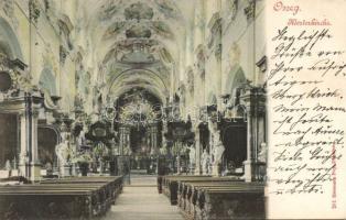 Osek, Osseg; Klosterkirche / church, interior