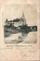 Hunedoara, castle, Vajdahunyad, vár, kiadja Schuller A.