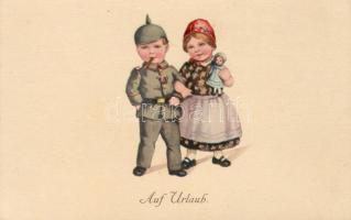 'Auf Urlaub' / On vacation, children, folklore
