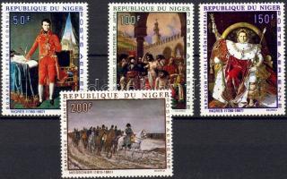 1969 Napoleon festmények Mi 206-209