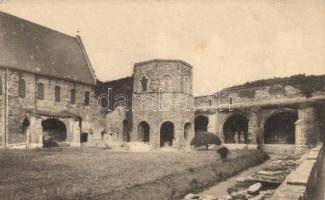 Ghent, Gand; Ruines de l'Abbaye Saint Bavon / abbey ruins