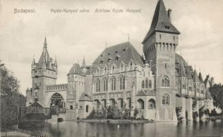 Budapest XIV. Vajdahunyad vára