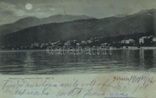 Abbazia at night