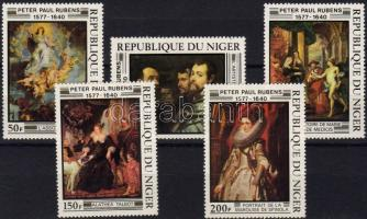 1978 Rubens festmények Mi 607-611