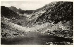 Tatra, Hincové pleso / lake, Tátra Hincó-tó