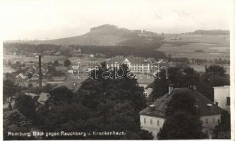 Rumburk, Rumburg; Rauchberg, Krankenhaus / hospital