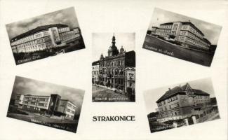 Strakonice, Okresni úrad, Budova st. úradu, Realné gymnasium, Masarykovy obecne skoly, Hospodynsky skola / county hall, schools
