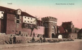 Torún, Brama Mostowa ze Zamkiem / bridge gate with the castle