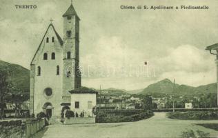 Trento, Chiesa di S. Apollinare a Piedicastello / church
