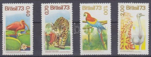 1973 Növények és állatok sor Mi 1415-1418