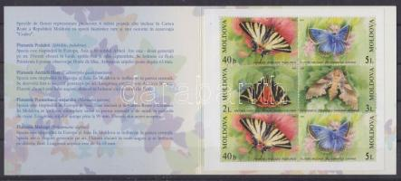 Butterflies stamp-booklet, Lepkék bélyegfüzet, Schmetterlinge Markenheftchen