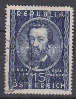 Millöcker stamp, Millöcker bélyeg, Millöcker Stamp