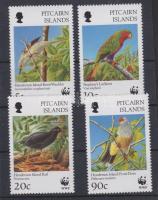 WWF Birds WWF-values from the set + 4 FDC, WWF Madarak sor WWF-es értékei + 4 FDC, WWF Vögel WWF-Werte aus dem Satz + 4 FDC