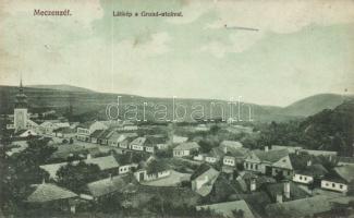 Medzev, street, Mecenzéf, Grund utca