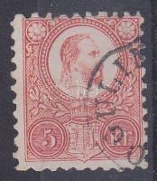 1871 Réznyomat 5kr OGULIN